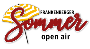 Logo Frankenberger Sommer open air als Vorlage für eine Logoanimation