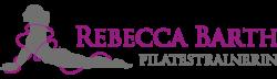 Logo Rebecca Pilates als Vorlage für eine Logoanimation